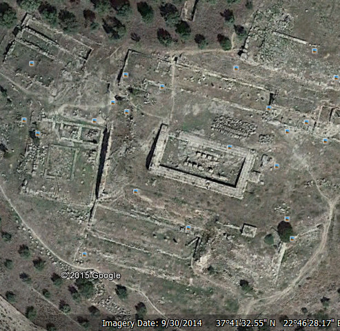 ναός-Ήρας-Άργος-συντεταγμένες