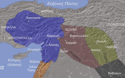 αυτοκρατορία-Χετταίων-14ος-αιώνας-πΧ