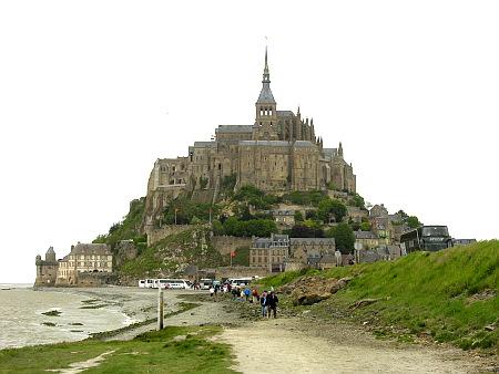 μοναστήρι_Mont-Saint-Michel