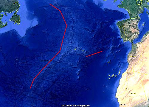 Ατλαντίδα-ηπειρωτικά-όρια