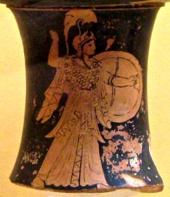 Θεά-Αθηνά-αγγείο